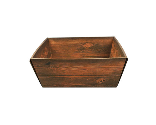 Basket rectangle high small L207xW157/ H98 mm vintage