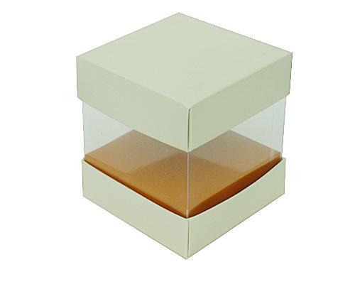 Skylinebox L100xW100xH100mm exterior Cairo ivory-caramel