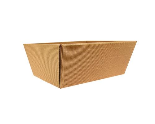 Basket rectangle high small L210xW160/ H97 mm kraft