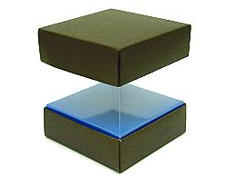 Skylinebox L100xW100xH100mm exterior Kreta brown-blue