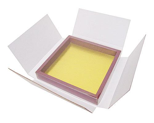Versandschachtel fuer Schachtel mit Klarsichtdeckel 175x175x25mm