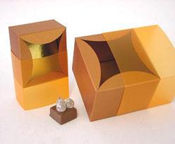 bilbao large 100x100x70mm coppertin orange