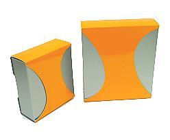 Box Dali small Duo Monaco silver orange