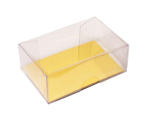 PVC Clic Clac box L60xW40xH20mm 2 choc