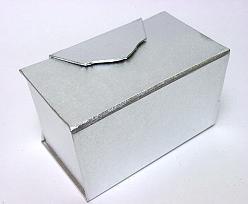 Ballotin de Luxe 500gram Silver