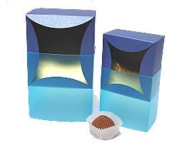 bilbao large 100x100x70mm bluetwist/blue