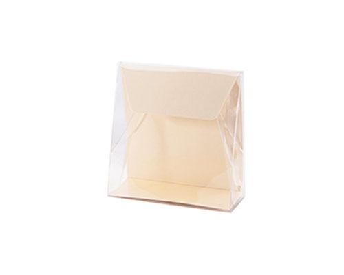Pochette transparant L100xW50/H110mm seashell