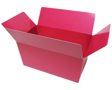Pralinenschachtel aus Pappe