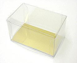 PVC L100xW60xH50mm transparant