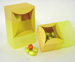 bilbao large 100x100x70mm goldyellow yellow