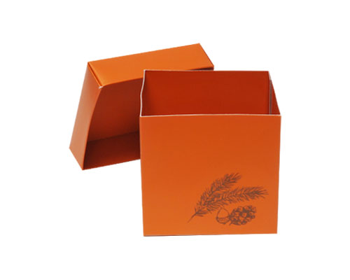 Cubebox Autumn figures 500 gr. sunset orange