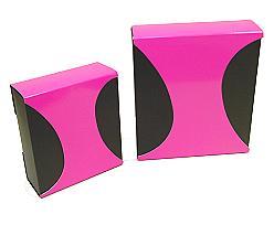 Box Dali small Duo Paris black fuchsia